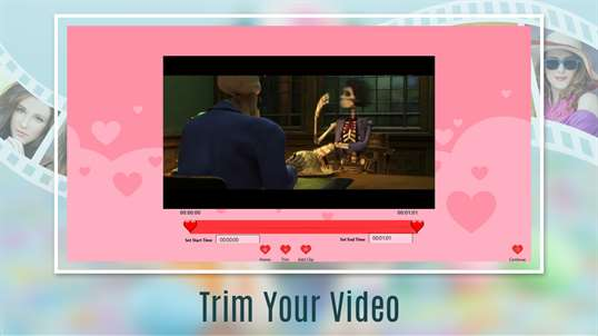 Love Videos: Free Video Editor, Photo Movie Maker & Slideshow Maker screenshot 1