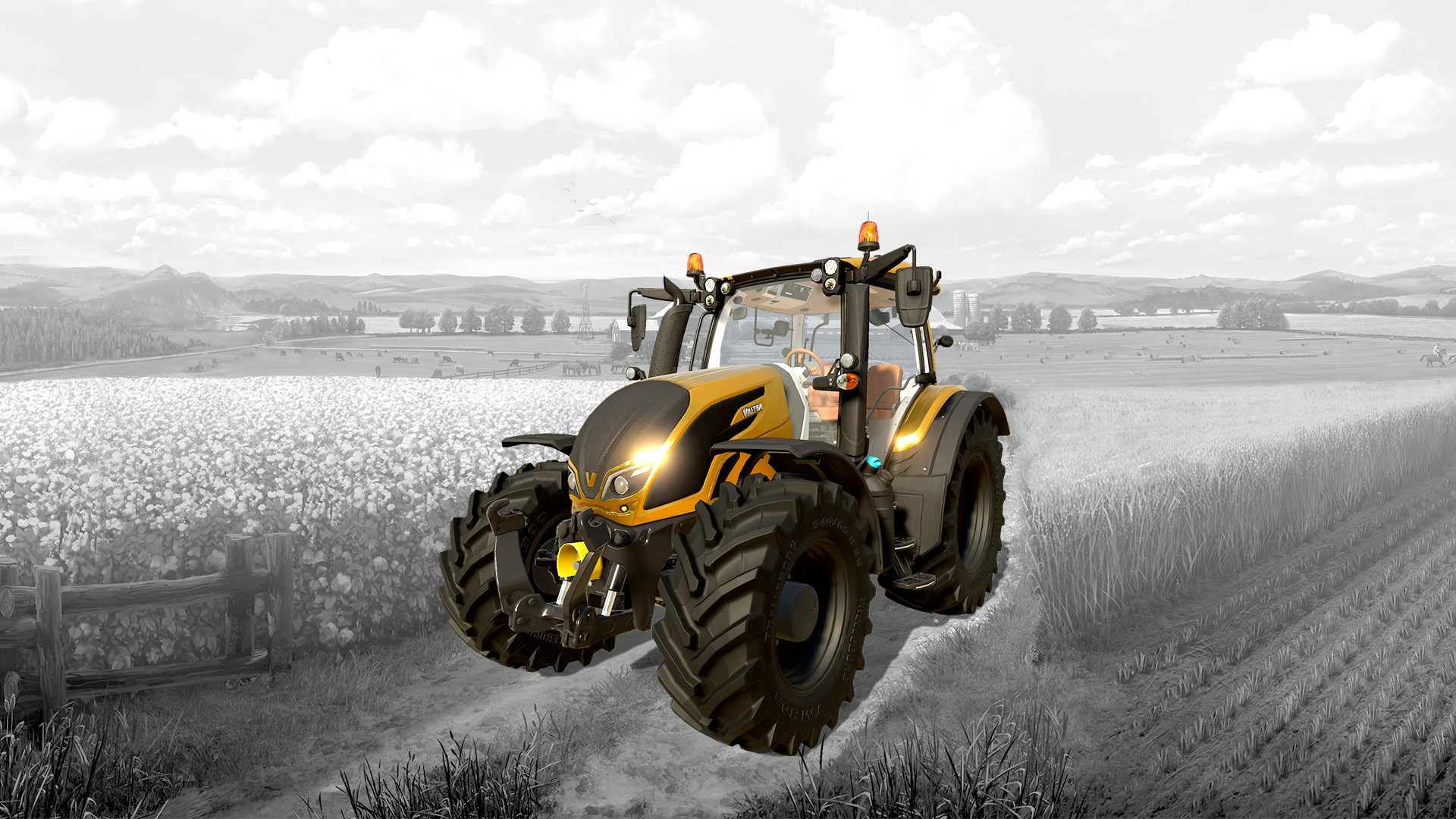Farming Simulator 19 - Valtra N-Series Gold DLC