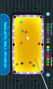 Space Pool: Billiards Snooker - 8 Ball Arcade 2D screenshot 3