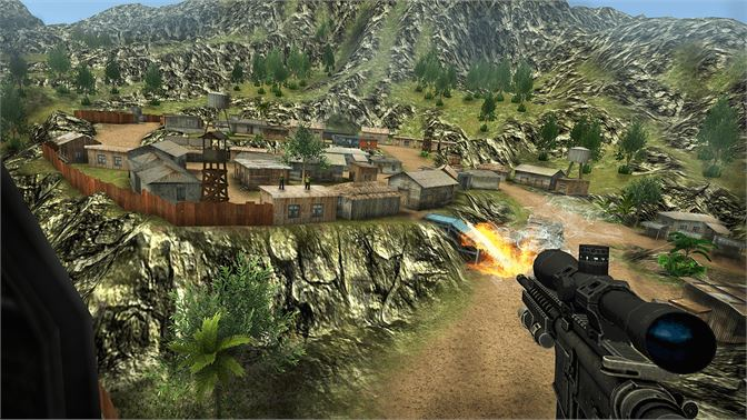 Get Sniper Ops 3D Shooter - Top Sniper Shooting Game - Microsoft Store