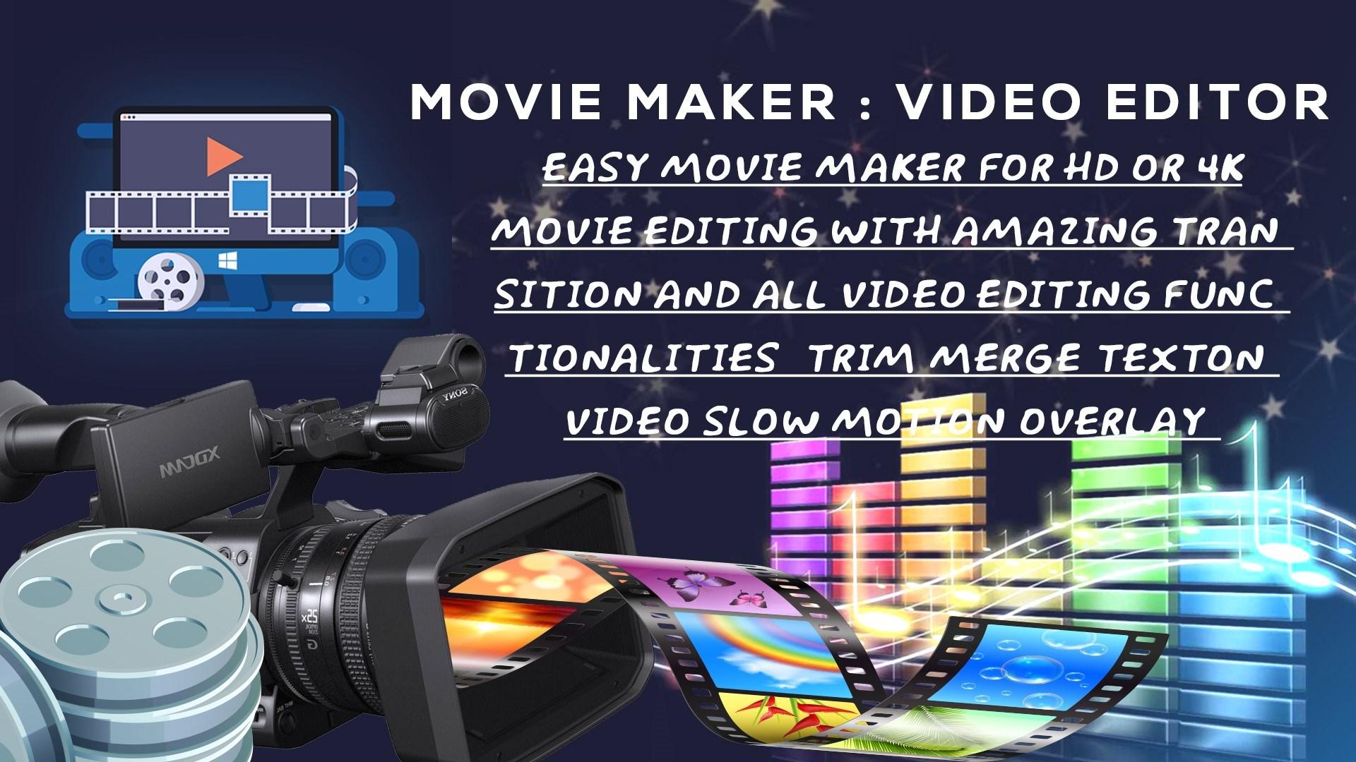 zoom in video movie maker