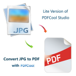 Convert JPG to PDF with PDFCool - JPEG to PDF,PNG to PDF Converter Logo