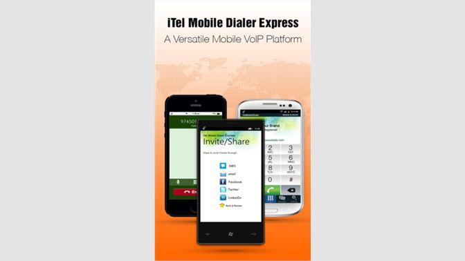Get iTelMobileDialer - Microsoft Store en-KW