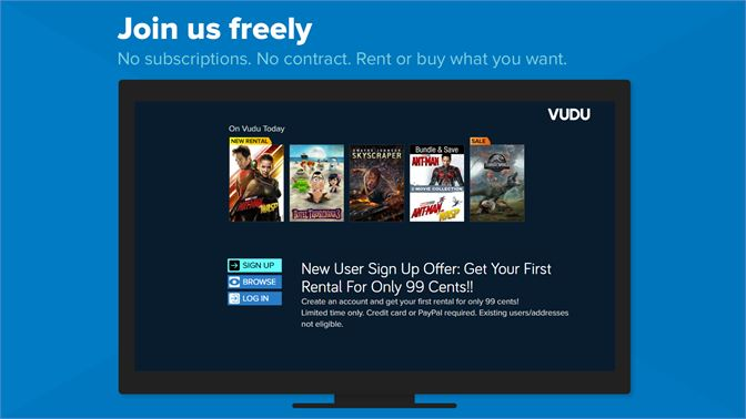 Get VUDU Movies and TV - Microsoft Store