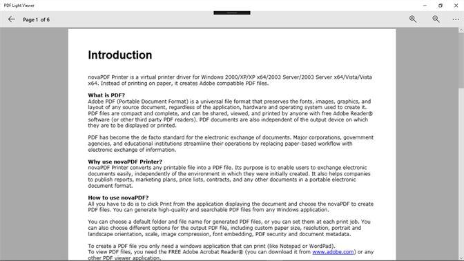 Buy PDF Light Viewer - Microsoft Store