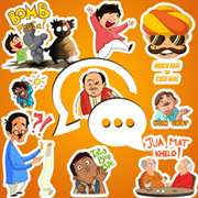 DESI Stickers FREE For WhatsApp,Facebook & All