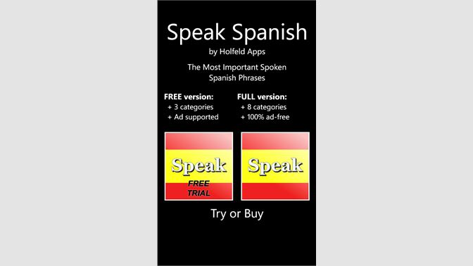 Buy Speak Spanish - Microsoft Store