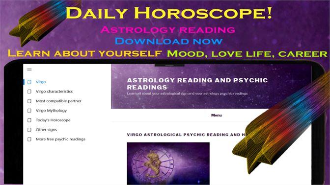 Get Virgo daily horoscope - Astrology psychic reading - Microsoft Store