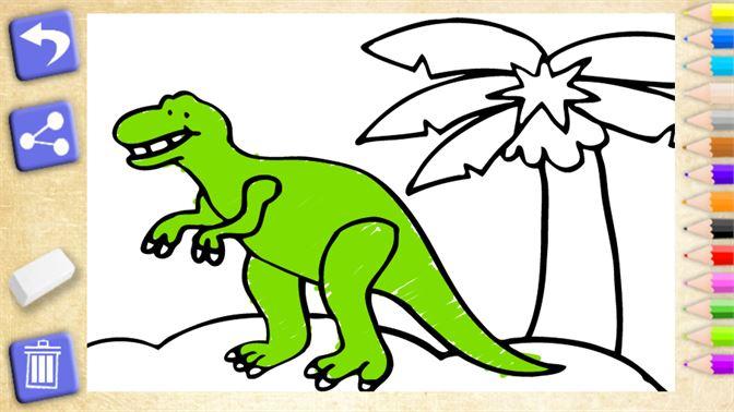Dinosaurier Malen Lerspiele Für Kinder Beziehen Microsoft Store De De