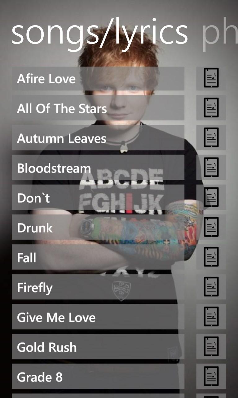 Ed Sheeran Music