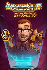 Carátula del juego SlowWolf - Awesomenauts Assemble! Announcer