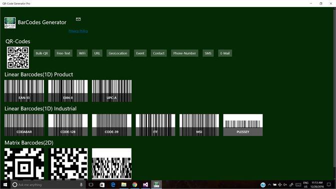 Get QR-Code Generator - Microsoft Store
