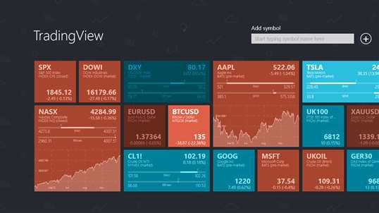 TradingView Stocks, Forex and Bitcoin PC Download Free - Best Windows 10 Apps