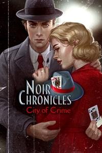 Carátula para el juego Noir Chronicles: City of Crime de Xbox 360
