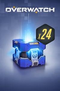 Carátula para el juego Overwatch 24 Archives Loot Boxes de Xbox 360