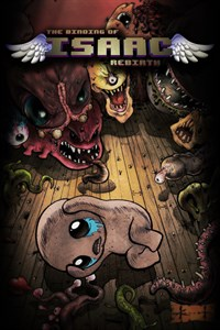 Carátula del juego The Binding of Isaac: Rebirth