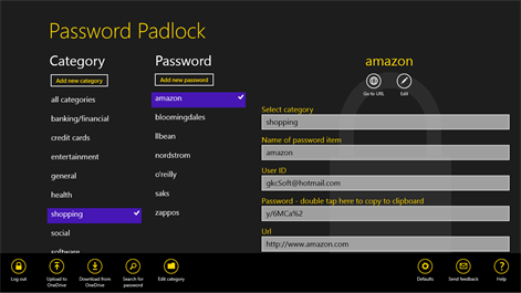 Password Padlock Screenshots 1