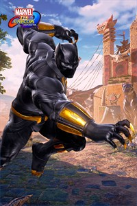 Carátula del juego Marvel vs. Capcom: Infinite - Black Panther