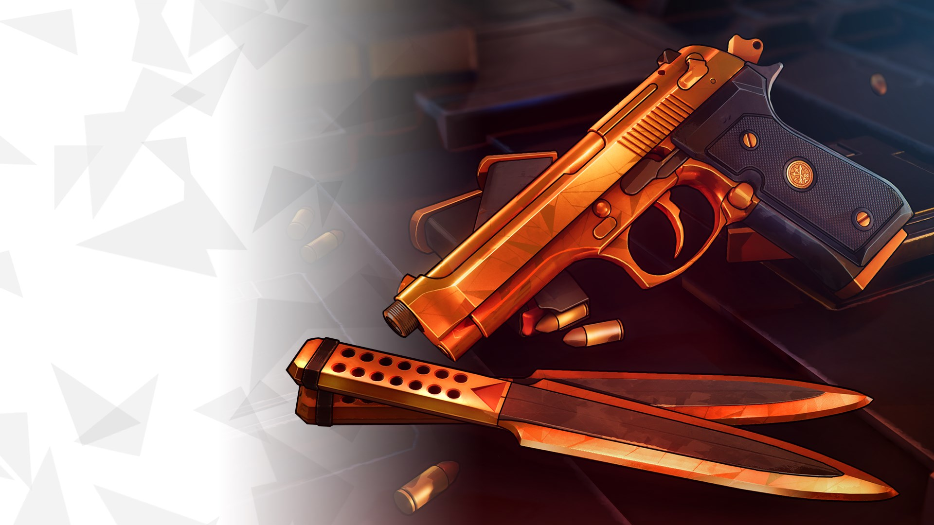 Golden Classic Weapons Skins Pack