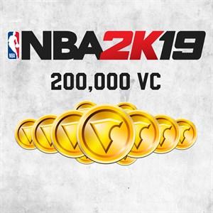 NBA 2K19 200,000 VC Xbox One
