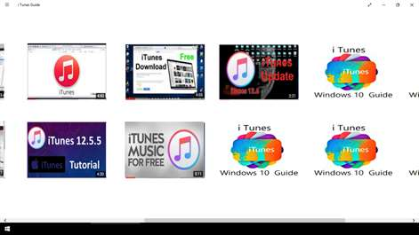 i Tunes Guide Screenshots 2
