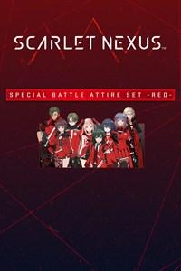 SCARLET NEXUS Battle Attire Set -Red-