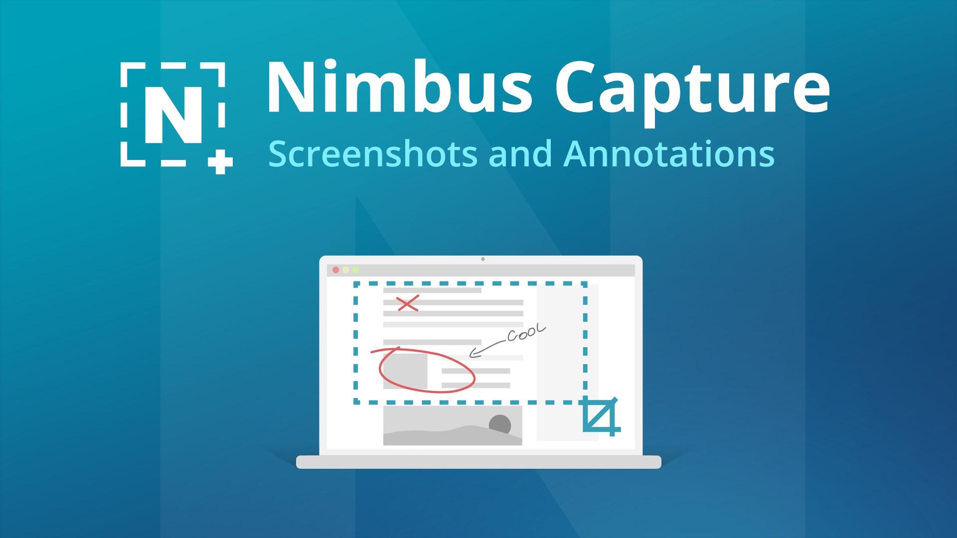 Get Nimbus Screen Capture - Microsoft Store en-SG