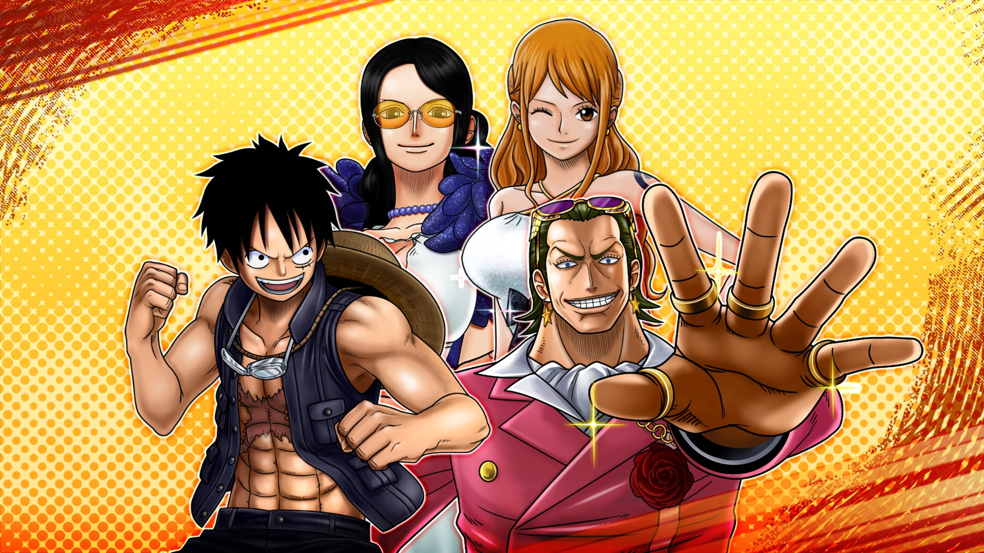 ONE PIECE BURNING BLOOD - GOLD Movie Pack 1