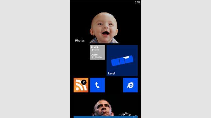 Get Bullion Tile Ticker - Microsoft Store