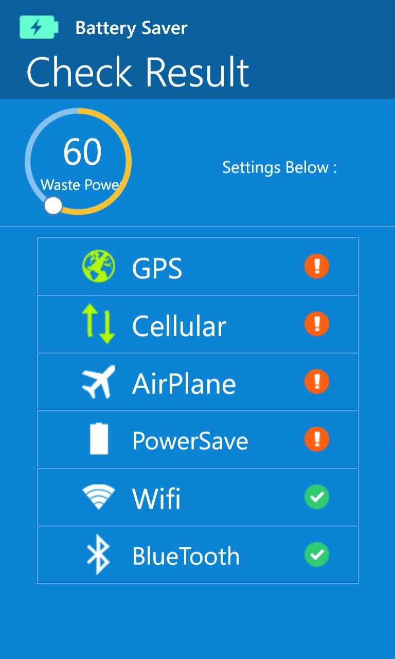Battery Saver Pro +