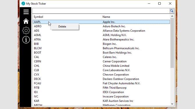 Buy My Stock Ticker Microsoft Store