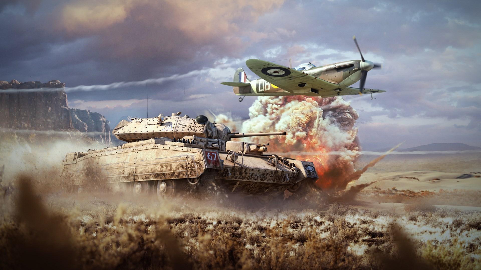 War Thunder - Стартовый набор Великобритании