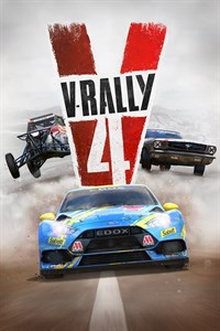 Carátula para el juego V-Rally 4 de Xbox 360