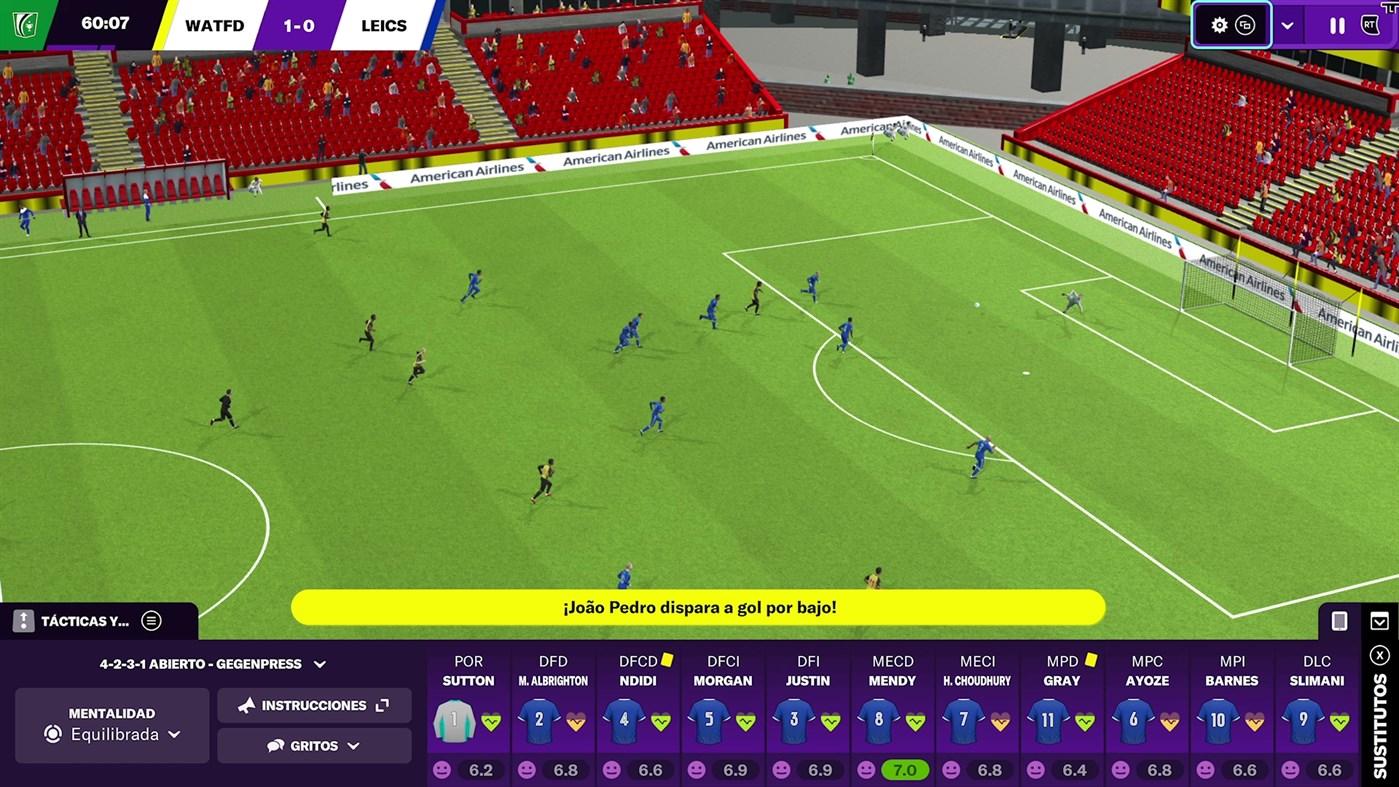 Football Manager 2021 llega a consolas Xbox con mejoras visuales exclusivas de Xbox Series X|S 3