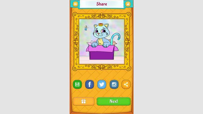 Dapatkan Mewarnai Gambar Kucing Comel Microsoft Store Ms My