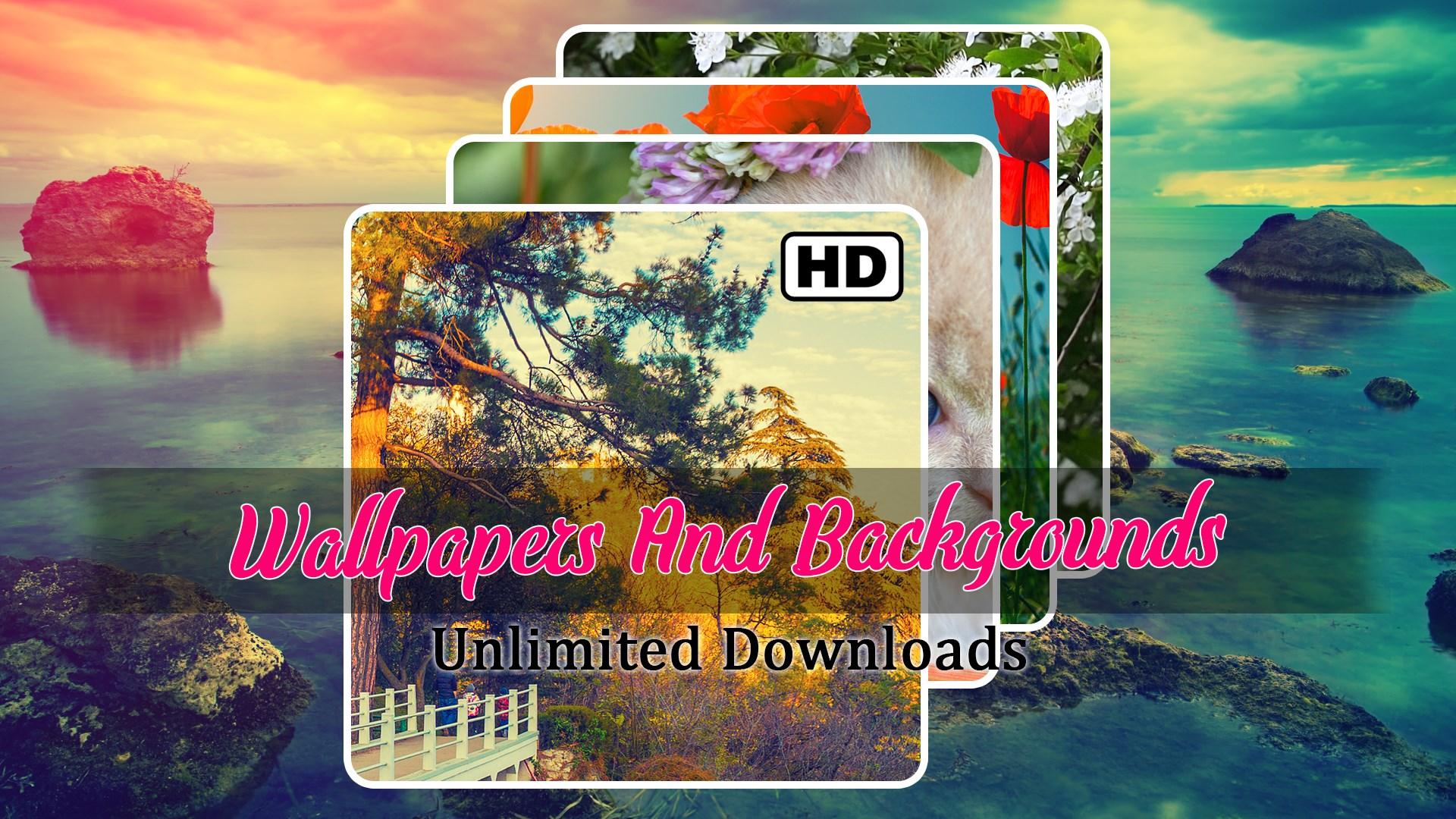 get wallpapers and backgrounds hd splashscreen lockscreen
