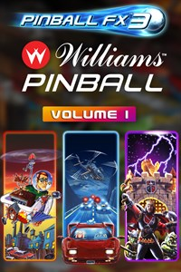 Carátula del juego Pinball FX3 - Williams Pinball: Volume 1