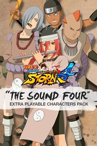 Carátula del juego The Sound Four Extra Playable Characters Pack