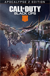 Carátula del juego Call of Duty: Black Ops 4 - Apocalypse Z Edition