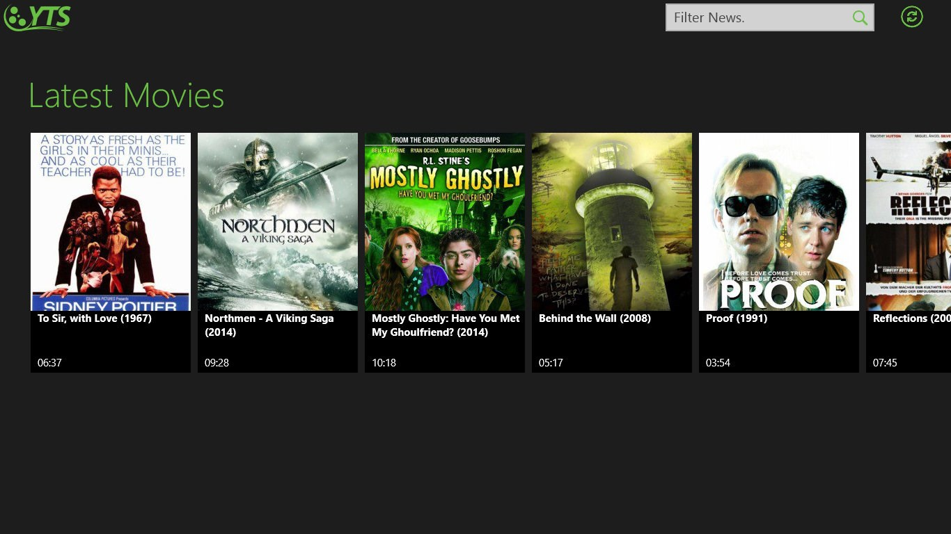 YTS latest movies for Windows 10 free download on Windows 10