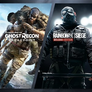 Paquete de Tom Clancy's Rainbow Six Siege y Tom Clancy's Ghost Recon Breakpoint Xbox One