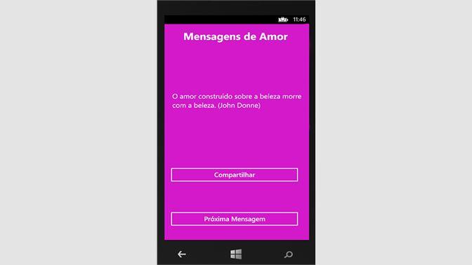 Get Mensagens de Amor Grátis HD - Microsoft Store