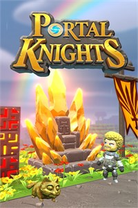 Carátula del juego Portal Knights - Gold Throne Edition