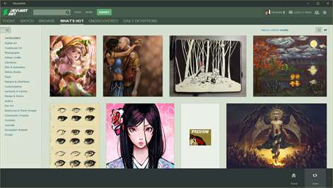 deviantart Screenshots 2