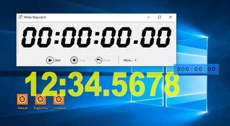 XNote Stopwatch Screenshots 1