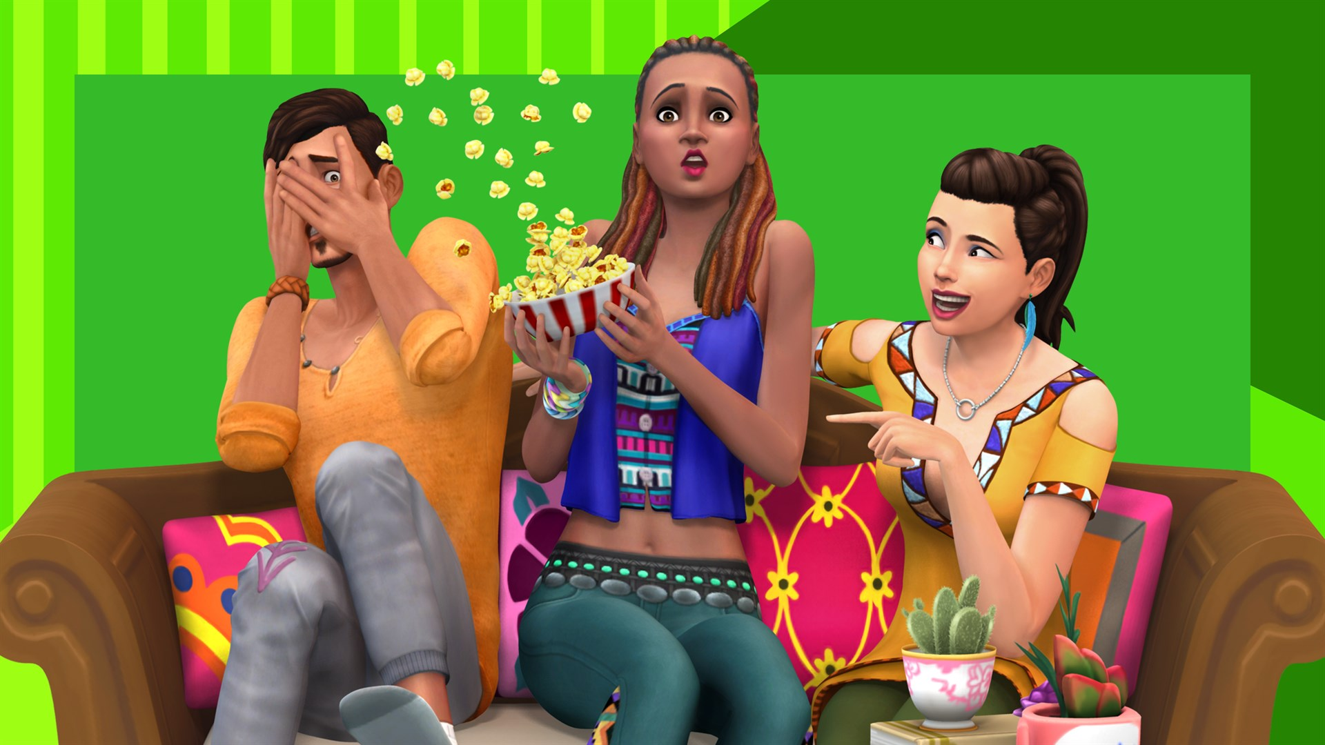 The Sims™ 4 Movie Hangout Stuff