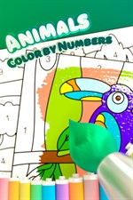 animals color by numbers を入手 microsoft store ja jp