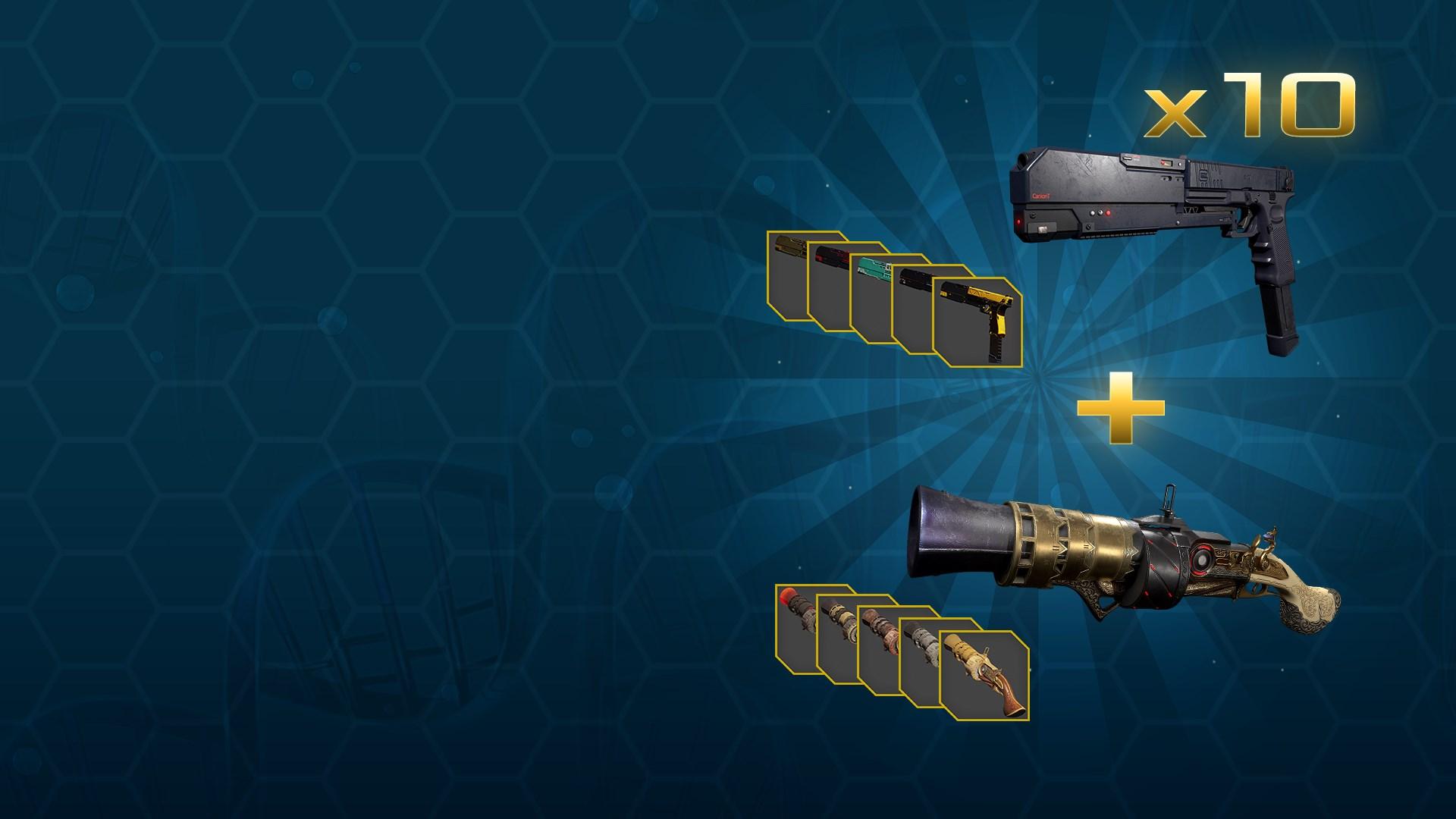 Gefährlicher Plünderer-Waffen-Paket