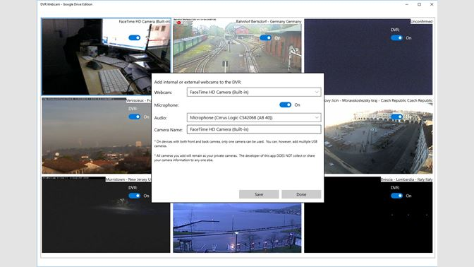 Buy DVR Webcam - Google Drive Edition - Microsoft Store