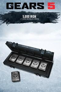 5 000 železa + 1 000 bonusového železa